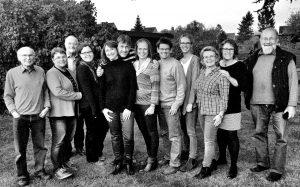 Der Vorstand der Primanervereinigung, aufgenommen am 5. November 2016, v. l.: Bernd Werlich, Andrea Bröcker, Norbert Meinert, Christin Fleck, Birthe Krüger, Rüdiger Fock, Kerstin Stäcker, Jens Blödorn, Eva Sachse, Maren Puls, Maren Blohm, Uwe Wilms